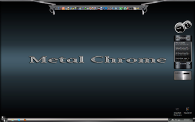 TEMA WINDOWS 7 METAL CHROME COOL