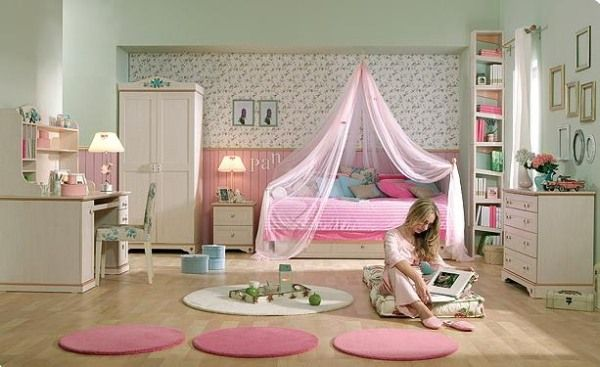 Teen Girl Bedroom Decorating Ideas | Dream House Experience