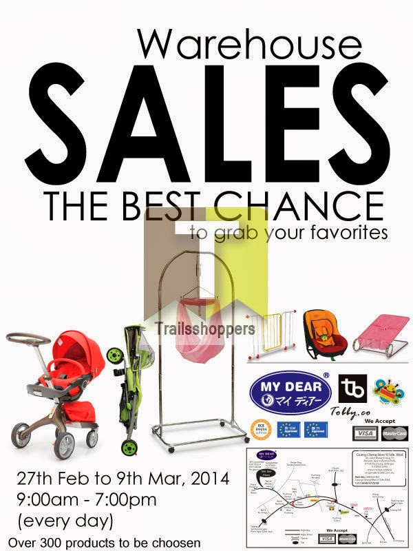 My Dear Warehouse Sales Puchong