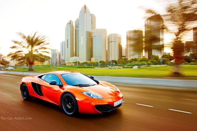 Car of the Year McLaren mp4 12C
