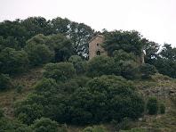 Zoom a la capella de Sant Andreu de Clarà