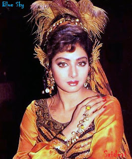 Foto Artis India on Sridevi   Biodata Dan Foto Artis Cantik Bollywood India   Blue Sky