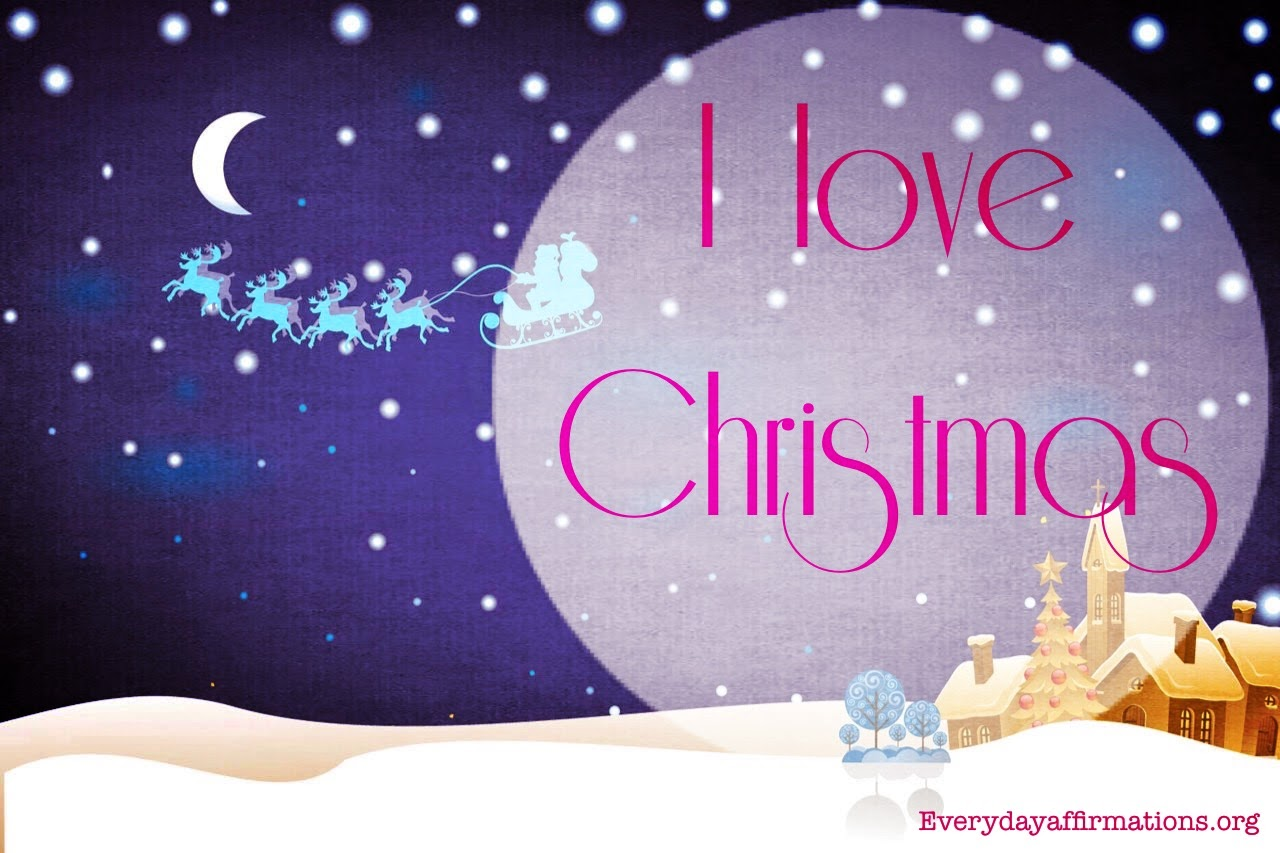 Affirmations for Christmas, Christmas Affirmations