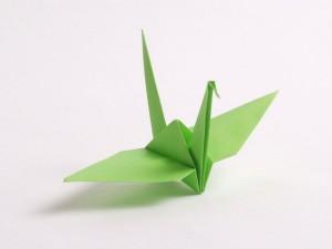 Cara membuat Origami Burung Bangau