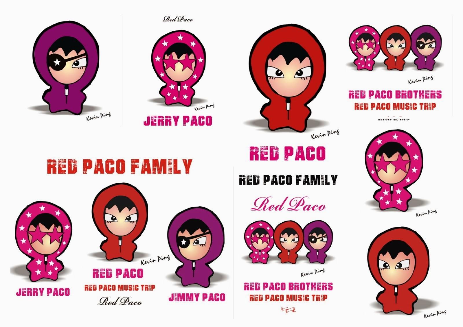 RTED PACO 紅帽3兄弟 肖像明星 管網