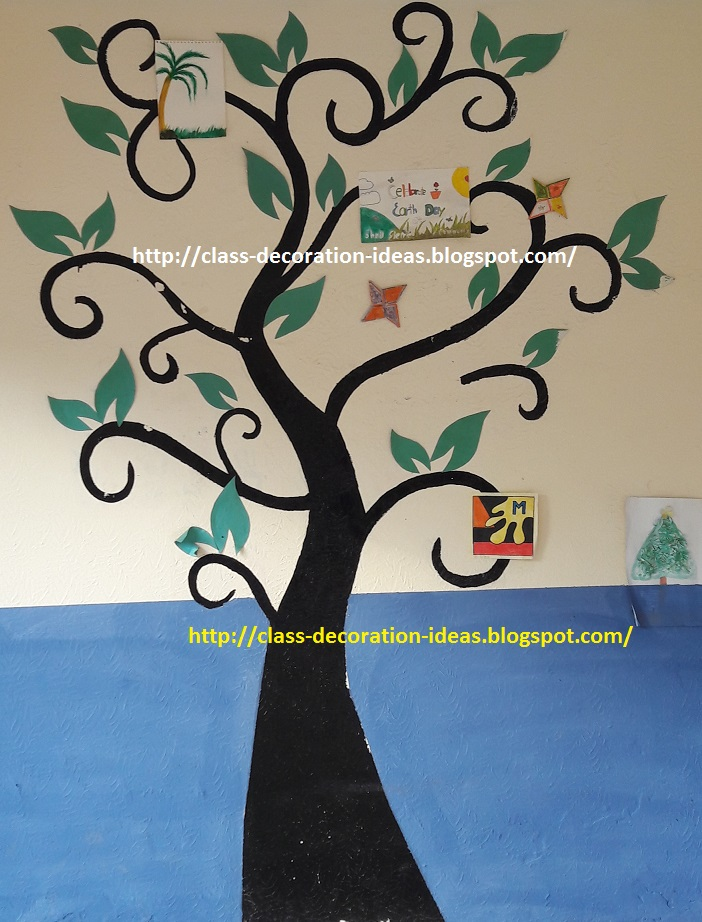 Wall Decoration for Class 1