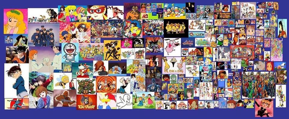 Tutti i migliori cartoni animati del mondo trasmessi in italia