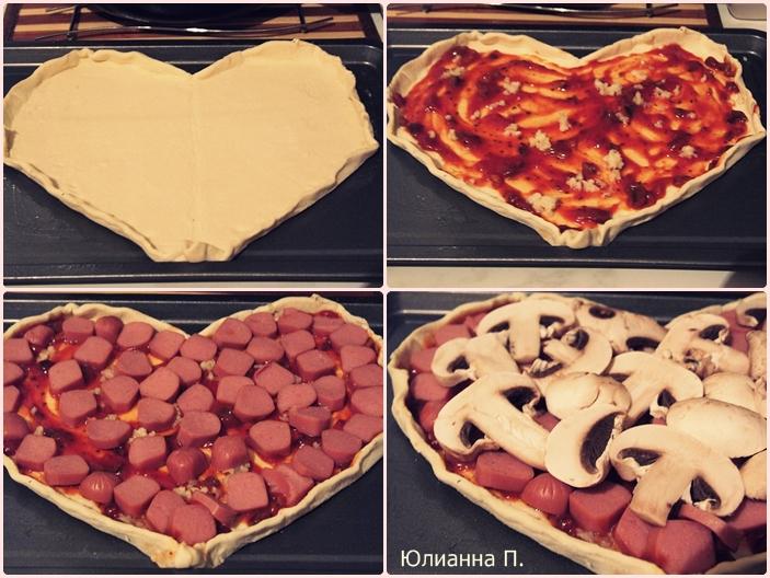 Как сделать бортики на пиццу