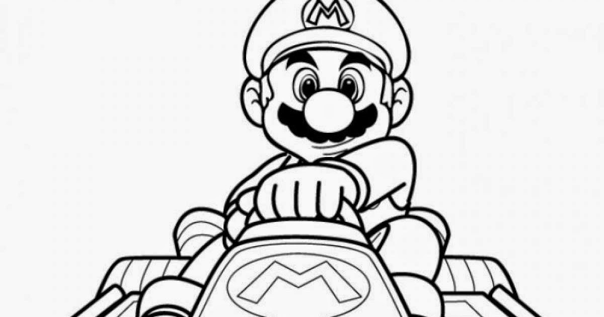 Princess anna coloring page printable princess anna - Free Printable Mario Kart Coloring Pages For Kids