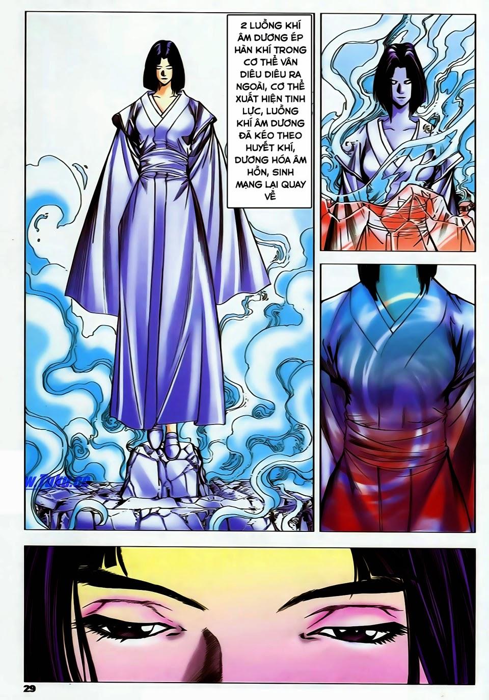 Lục Đạo Thiên Thư chap 37 - Trang 29
