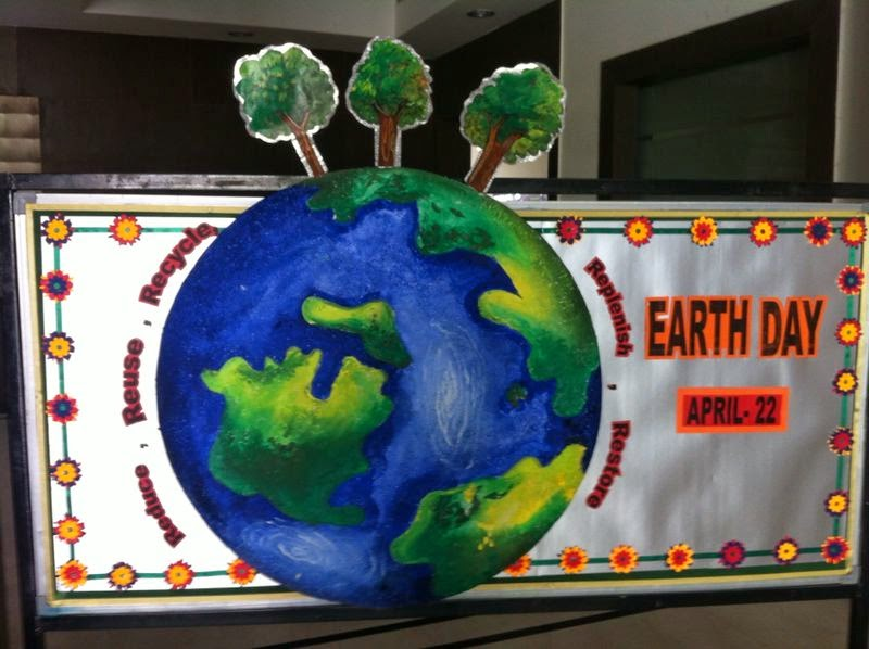 Classroom Ideas For Earth Day ~ Art craft ideas and bulletin boards for elementary
