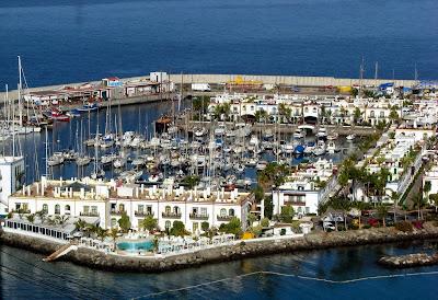 Puerto de Morgan marina, Gran Canaria