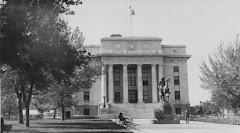 Yavapai County Courthouse, 1930s.