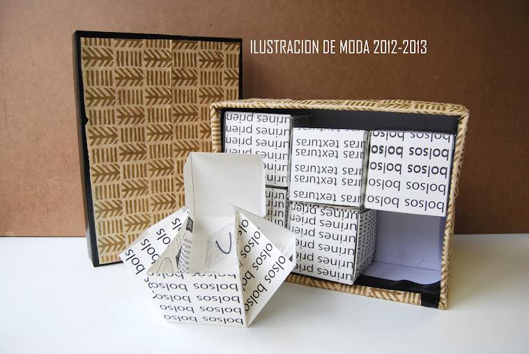 book de moda realizado por ilustrador