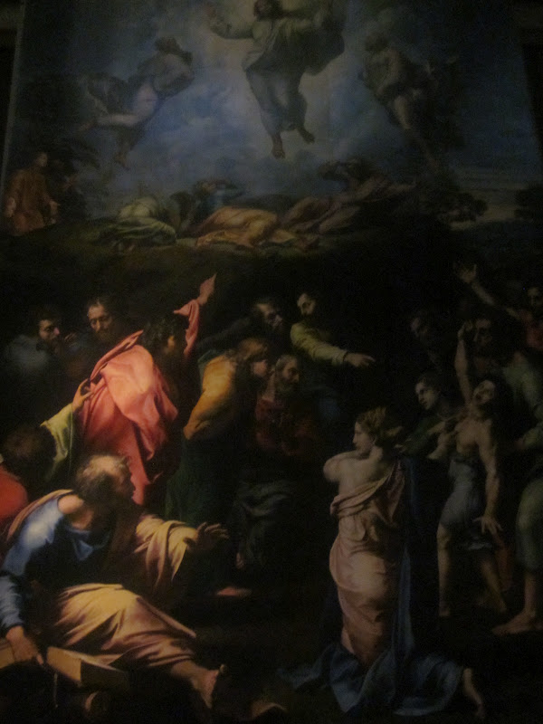 raphael s last painting the transfiguration Raphael's final work, the transfiguration was painted on a wooden surface over  a period of four years up until his death in 1620 centuries.
