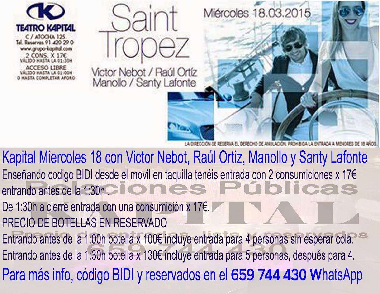 Discoteca kapital madrid 659 744 430 whatsapp entrada for Kapital jueves gratis