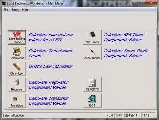 Lucid Electronics Workbench 1.02.0008 Image