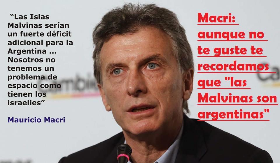 Macri: presidente argentino