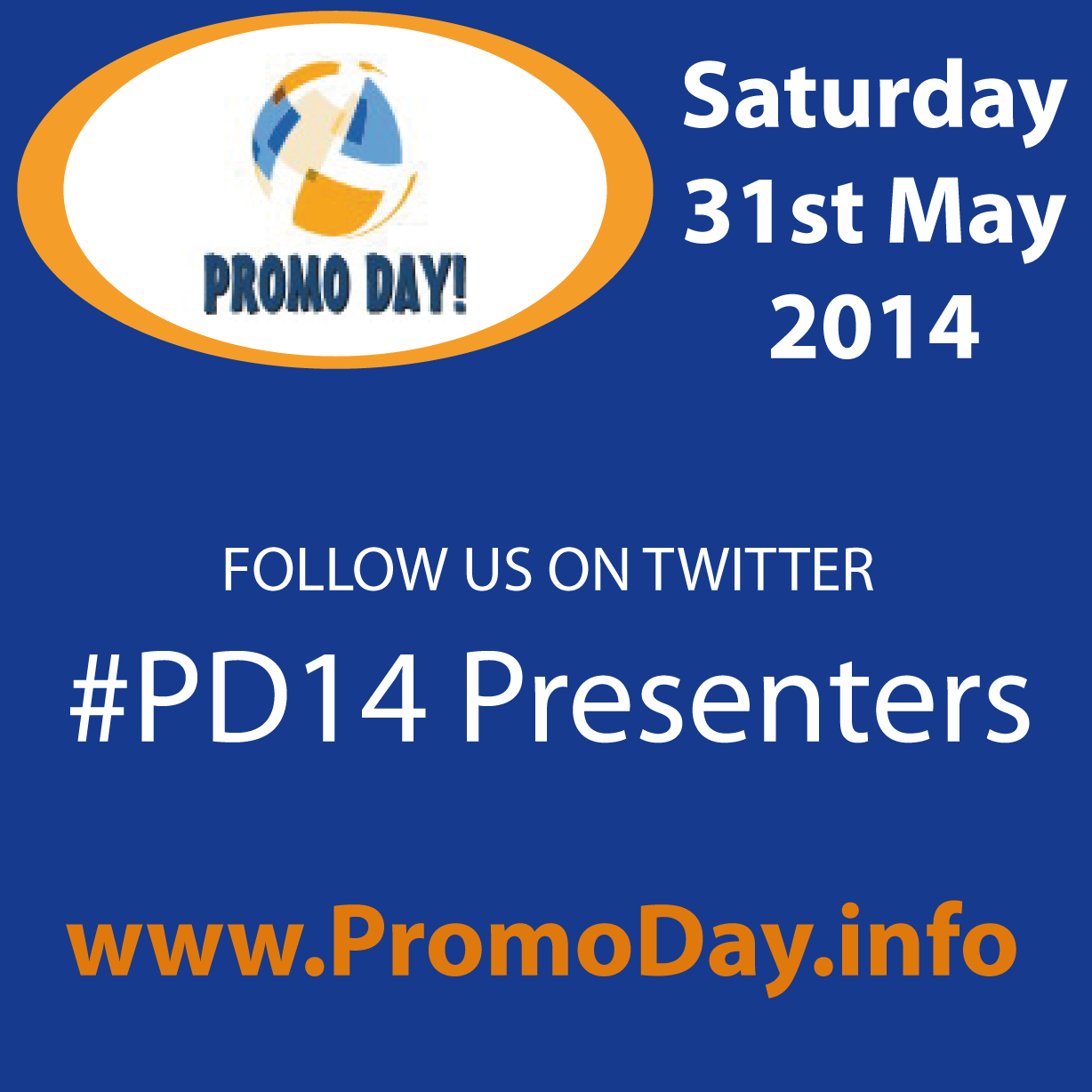 #PD14 presenters on Twitter