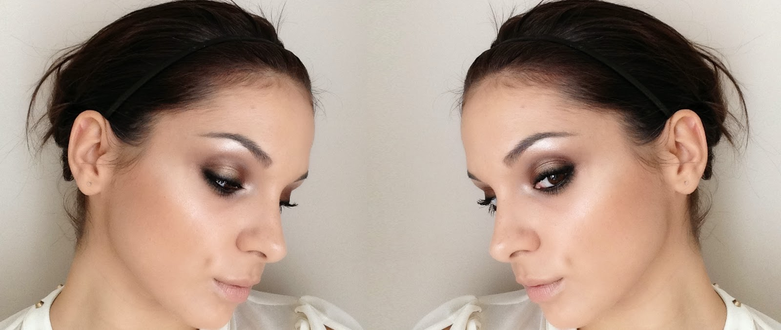 Maquillaje con paleta sleek storm