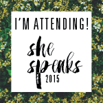 She Speaks 2015