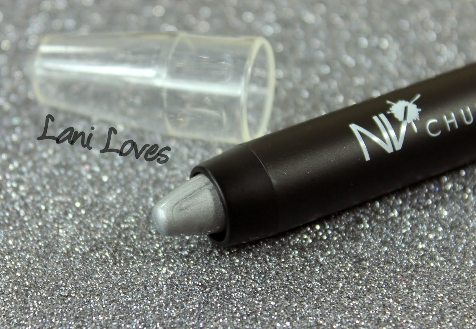 NV Colour Chunky Crayon - Platinum Swatches & Review