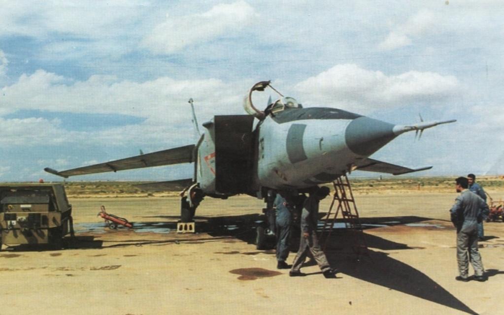 Fuerzas Armadas de Argelia MIG-25RBG