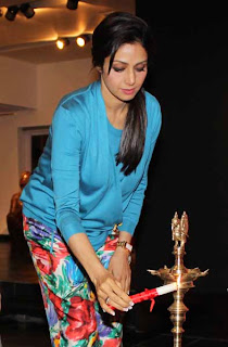 Sridevi at Stories of Invocation Launch by Rini Dhumal & Seema Kohli