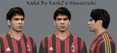PES 2014 Kaka Face by KarkZ & Hamarzuki