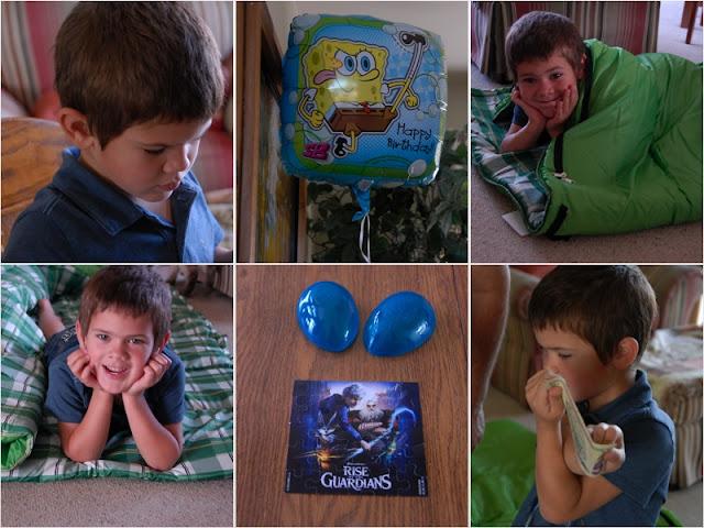grandson celebrating birthday