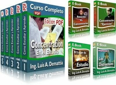 concentracion en el estudio ing luis demattia curso Concentración en el Estudio   Ing. Luis Demattia [Curso]