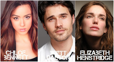 "Noticias y curiosidades de ""Marvel Agents of SHIELD"" Chloe+bennett+brett+dalton+elizabeth+henstridge"