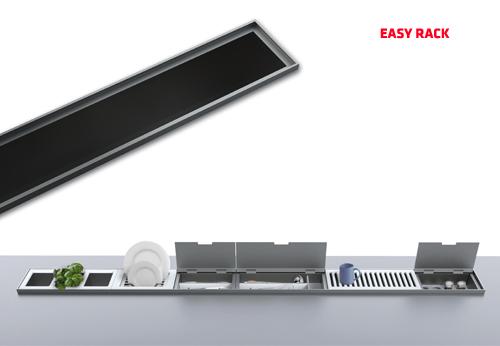 Iluminacion Baño Easy: , Cerrajería, Decoración -: EASY RACK CANAL EMPOTRABLE DE ENCIMERA