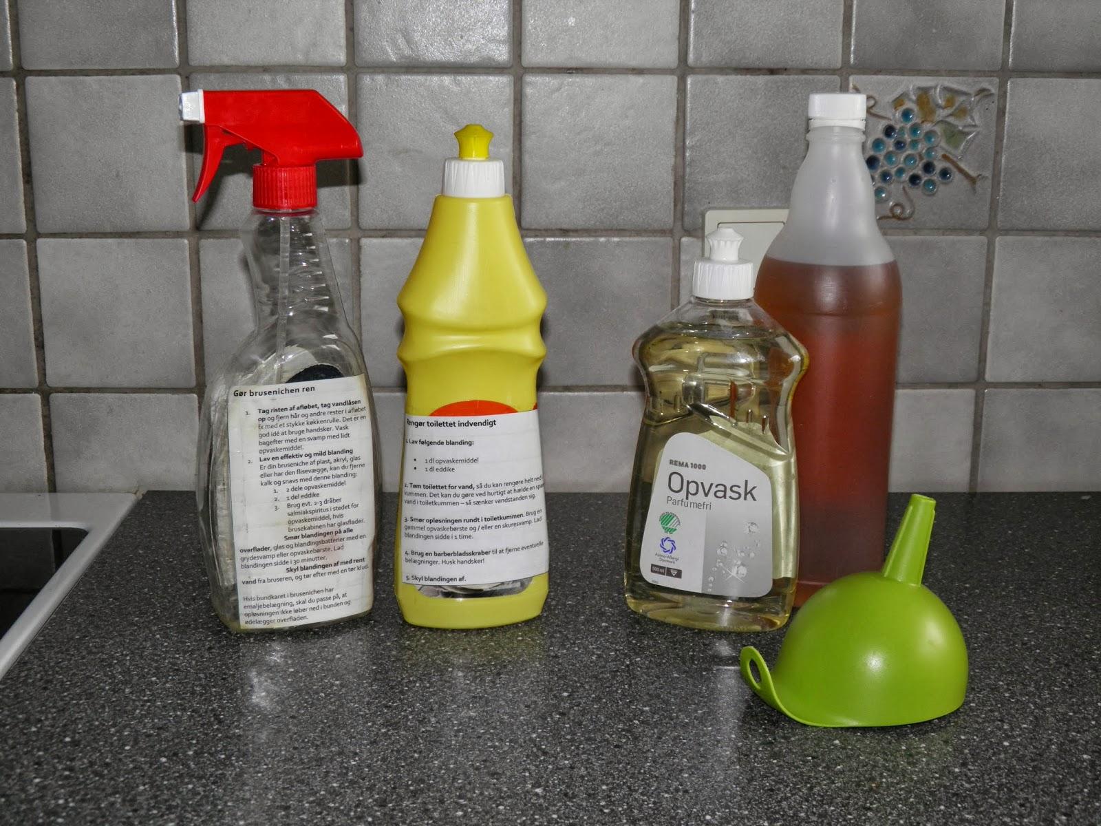 eddike til rengøring