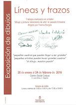"""Exposición """"líneas y trazos"""""""