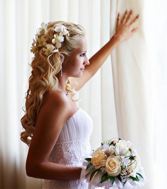 свадебные прически с фотографиями донецк