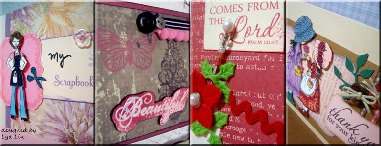 """...little pieces, big memories"" - my handmade world - the journey of scrapbook trekker"
