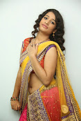 santoshini sharma photos in half saree-thumbnail-8