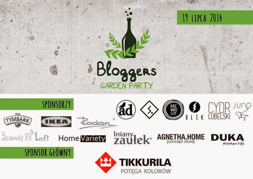 bloggers garden party,spotkanie blogerów,blogerki w ogrodzie,blogerki i sponsorzy,