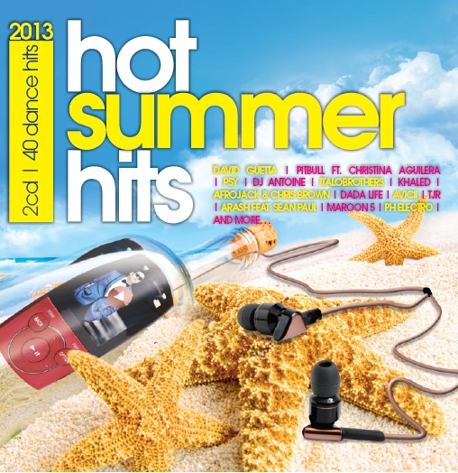 Capa do álbum Hot Summer Hits 2013
