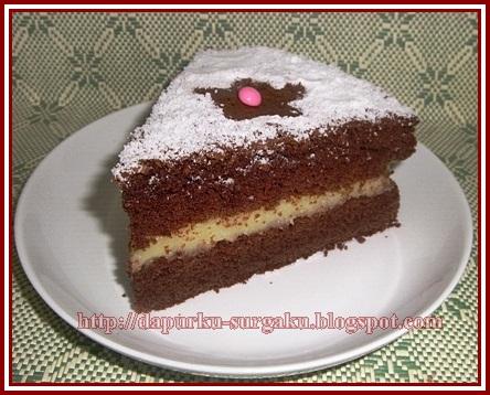Cake Tanpa Tepung Terigu, Cake Dari Tepung Beras, Camilan, Cake Tanpa Pengembang Tambahan, Chocolate Cheese Cake, Cake Tanpa Margarin Dan Mentega