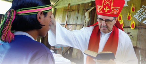 Obispo misionero en el Sacramento de la Confirmación