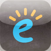 Edublogs Icon, a little e