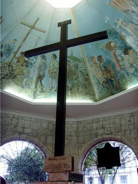 cebu magellan's cross