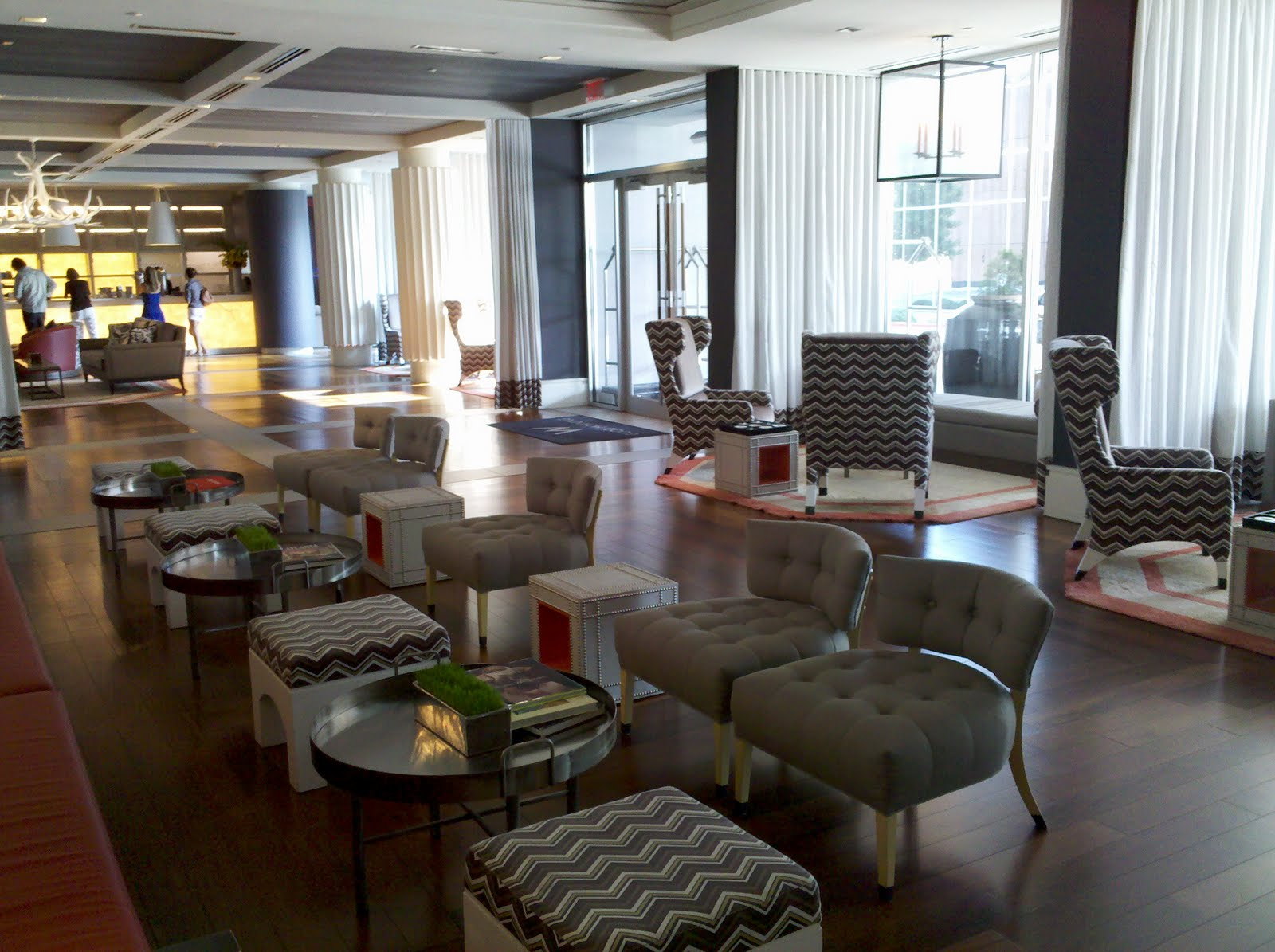 W Atlanta Hotel Buckhead The Living Room