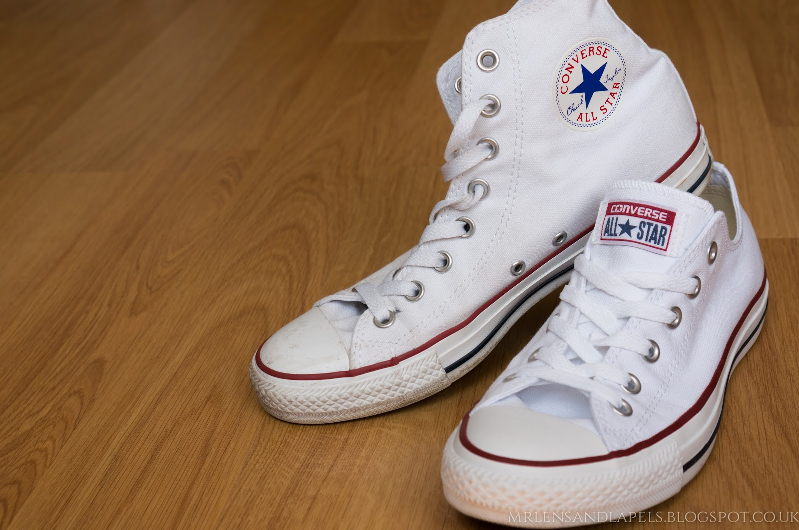 Converse shoes hi-top low-top