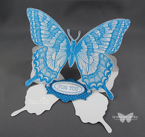 MDS Swallowtail Easel Card Tutorial