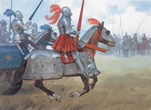 Armaduras y armas de los caballeros Tudor+Knights