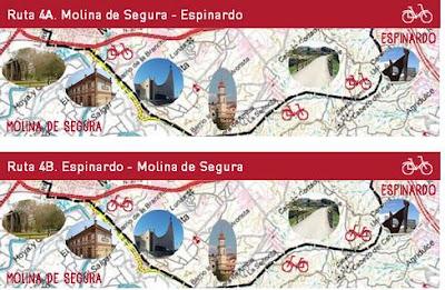 """Al campus pedaleando"" ruta 4A"