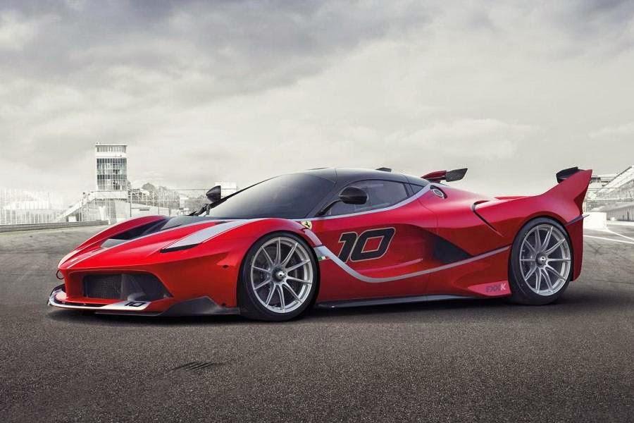Ferrari FXX K (2015) Front Side 1